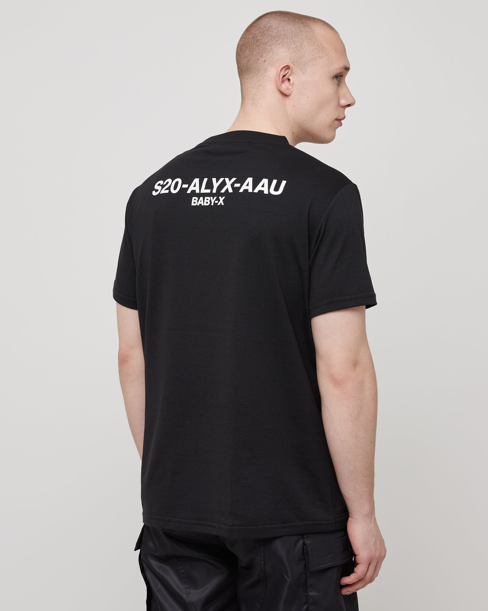 S/S Logo T-Shirt in Black