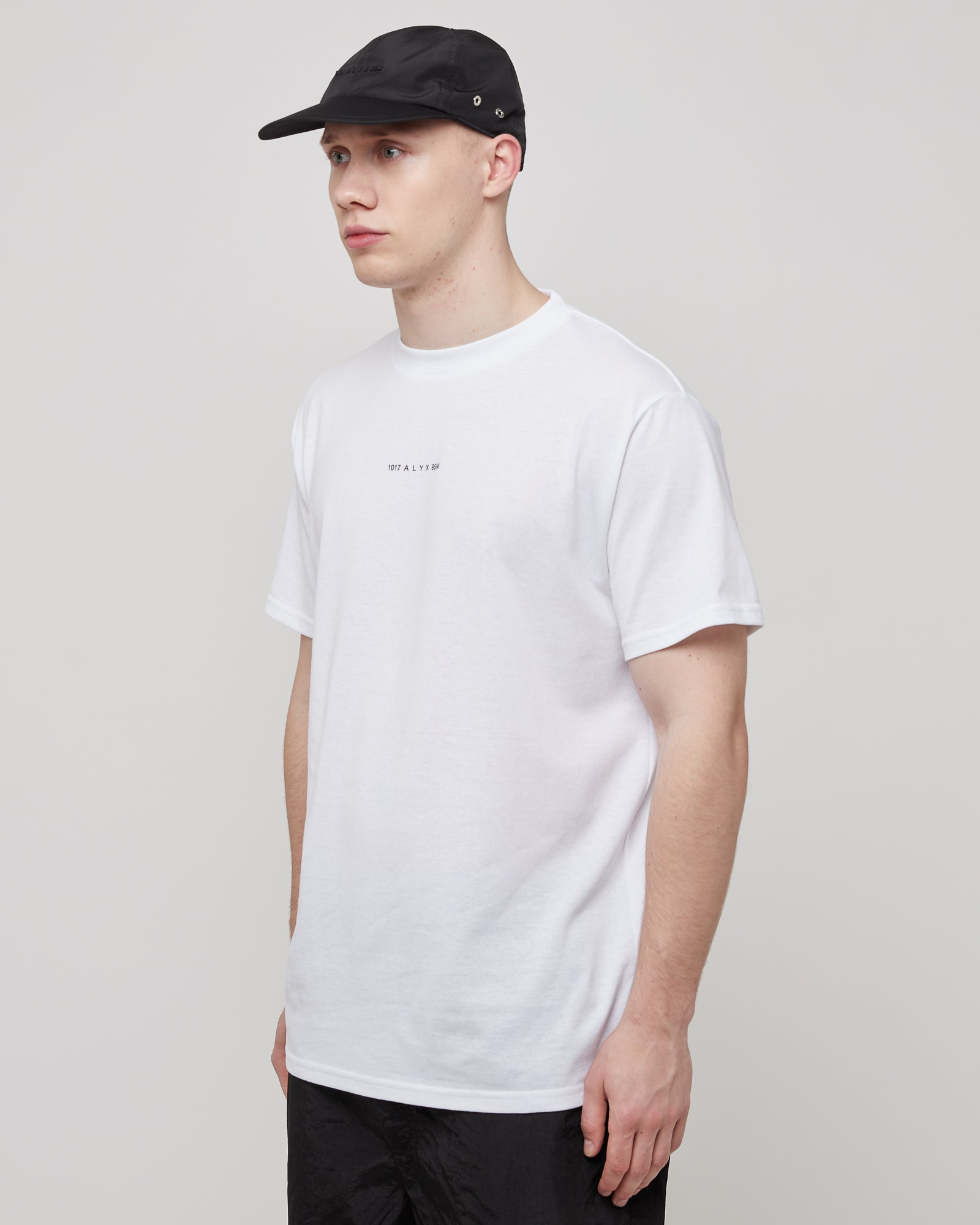 S/S  Logo T-Shirt in White
