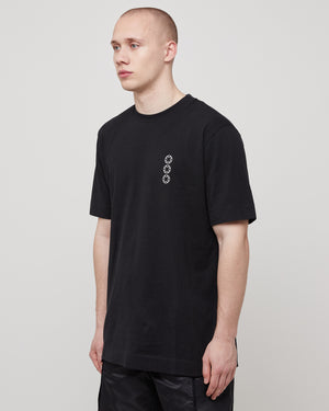 S/S Serigraphic T-Shirt in Black