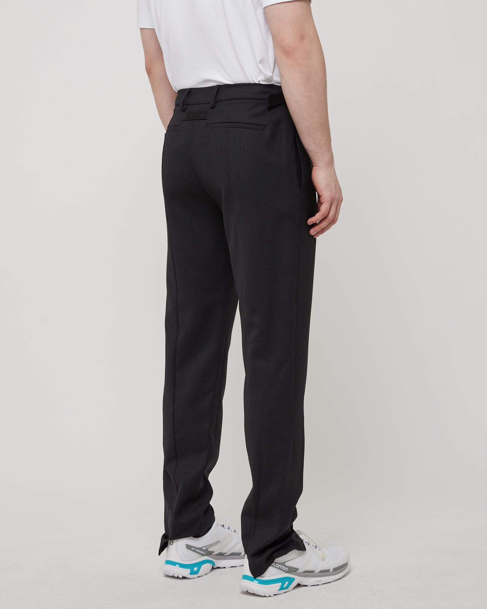 Stirrup Suit Pant in Black
