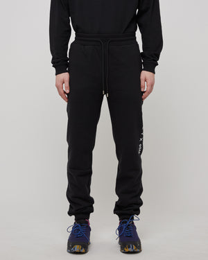 Visual Logo Sweatpant in Black