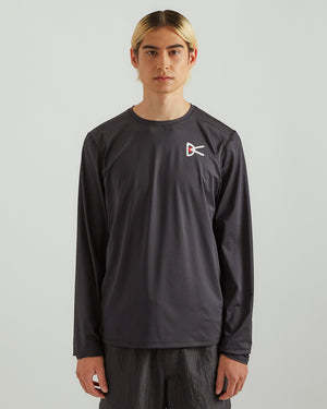Air-Wear L/S T-Shirt in Black