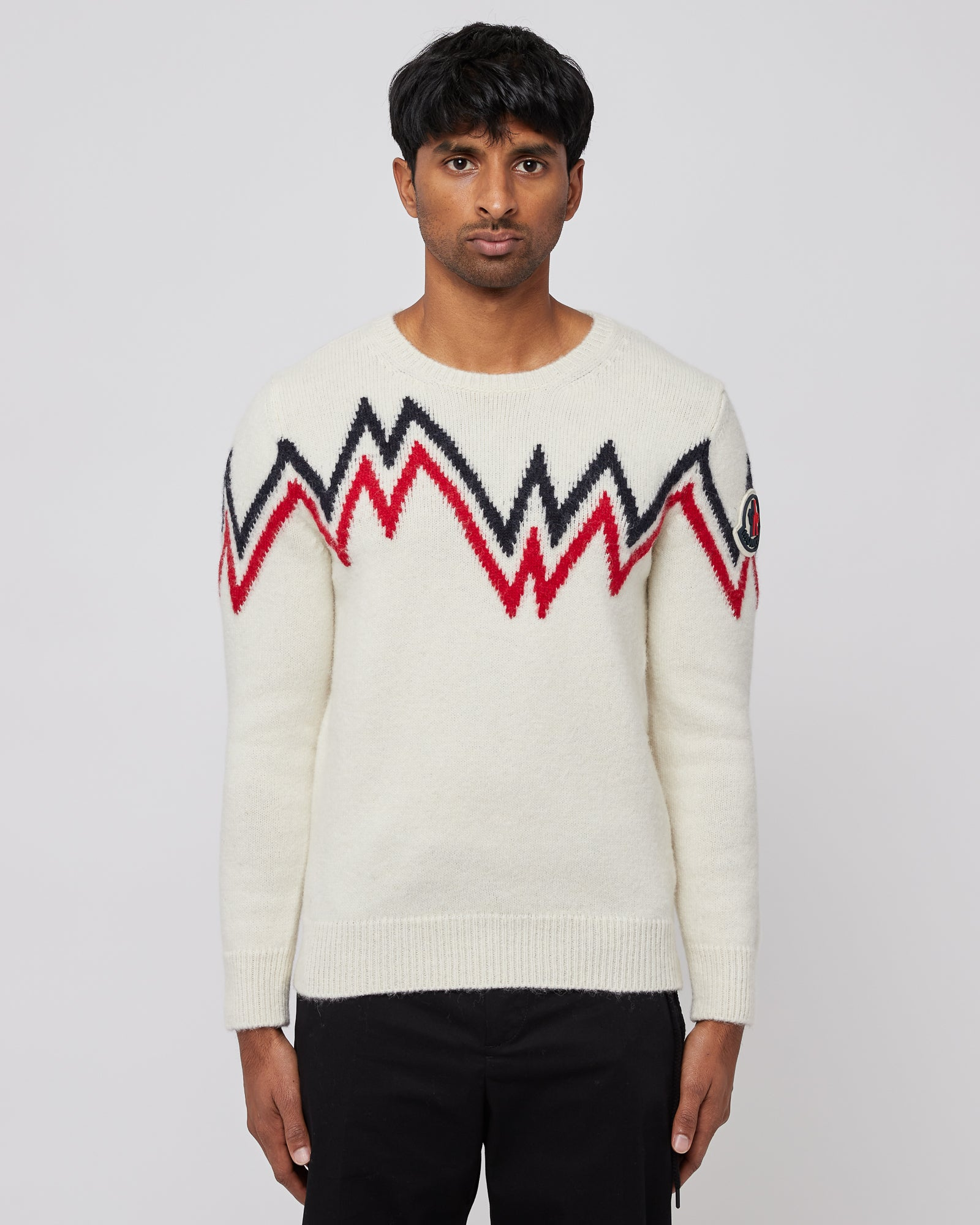 Alpaca Sweater in Off White