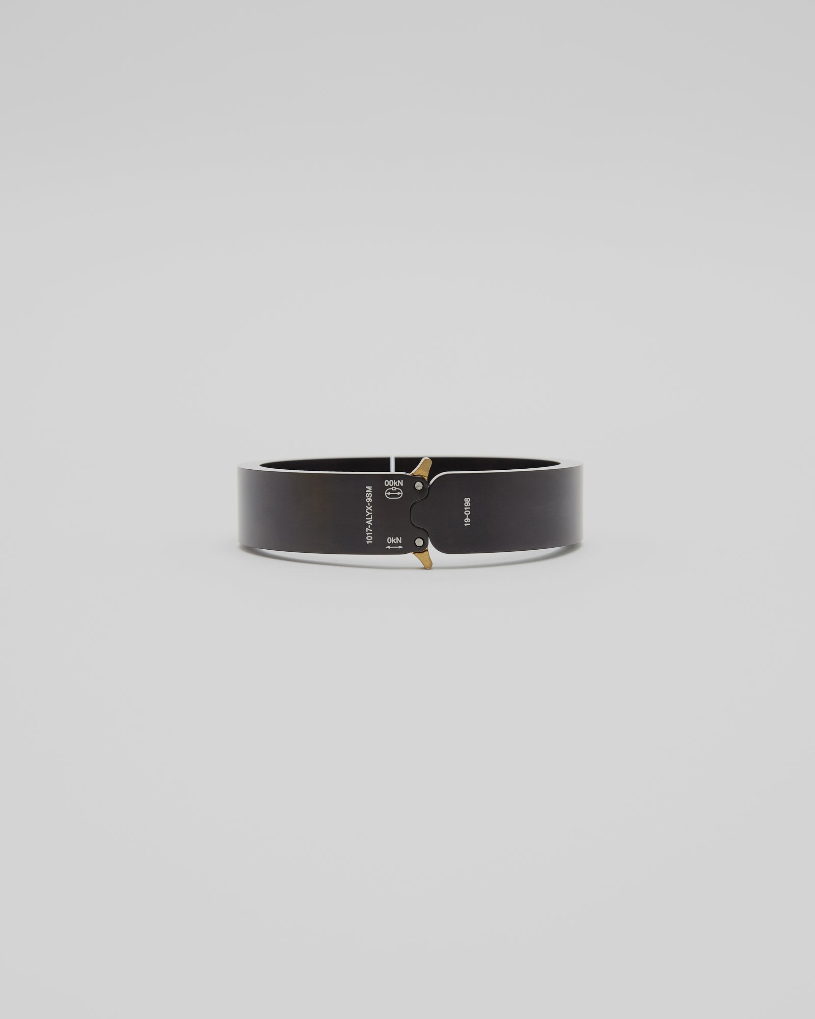 Buckle Bracelet in Black