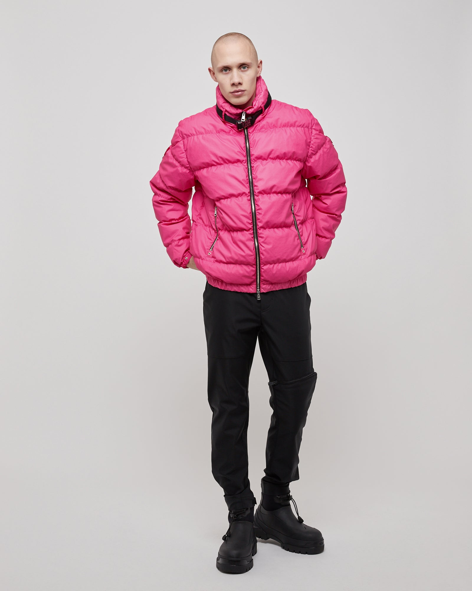 Deimos Puffer Jacket in Pink