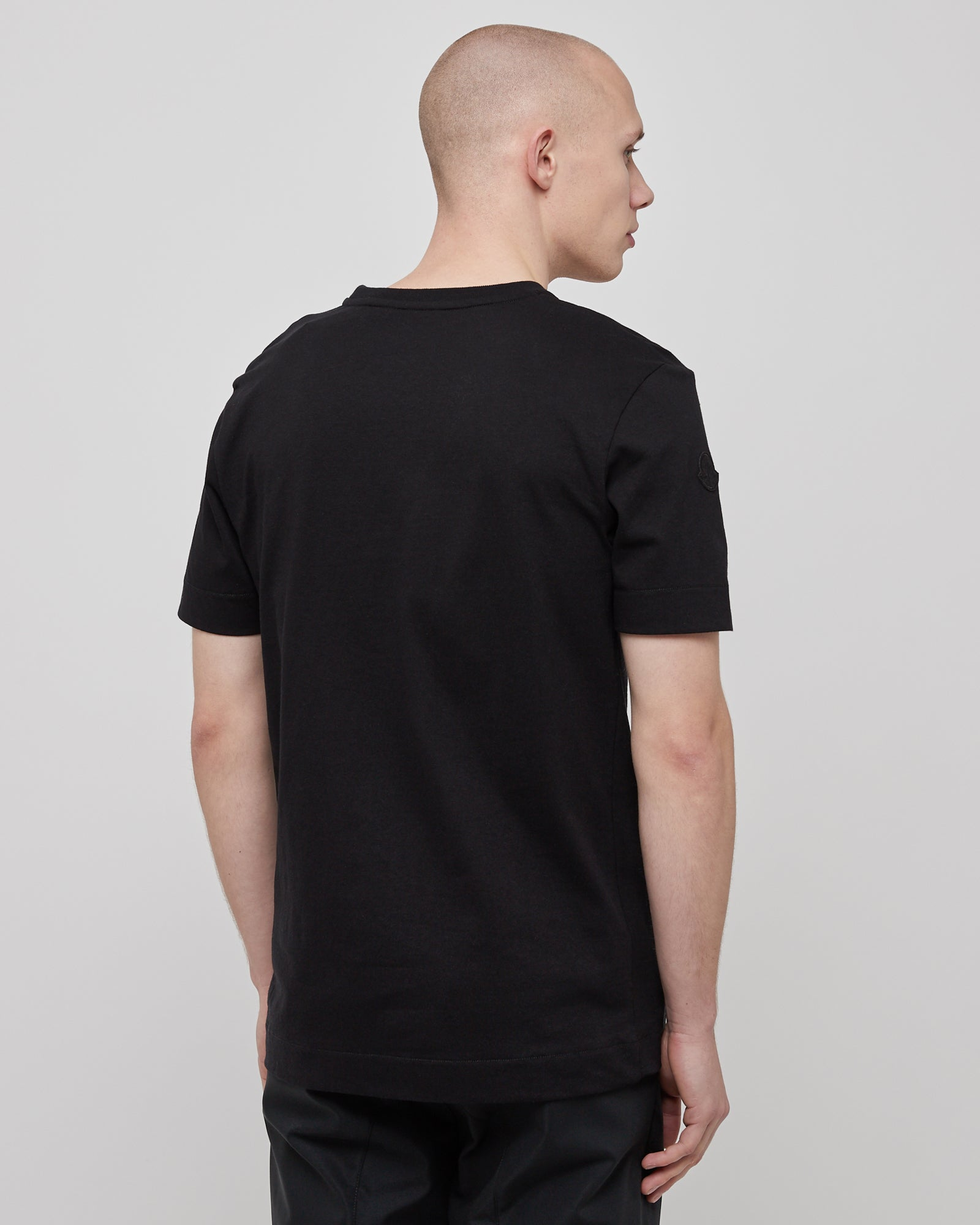 Girocollo T-Shirt in Black