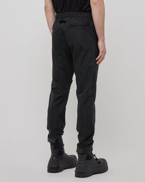 Side Zipper Pants in Black