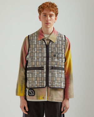 Apron Vest in Multi