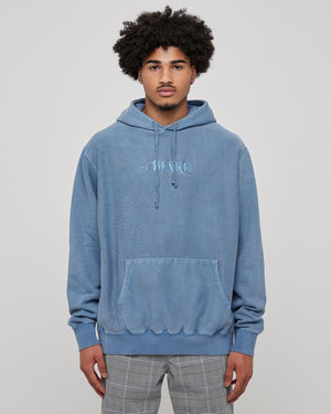 Classic Logo Hoodie in Washed Blue