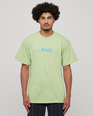 Classic Logo T-Shirt in Light Green