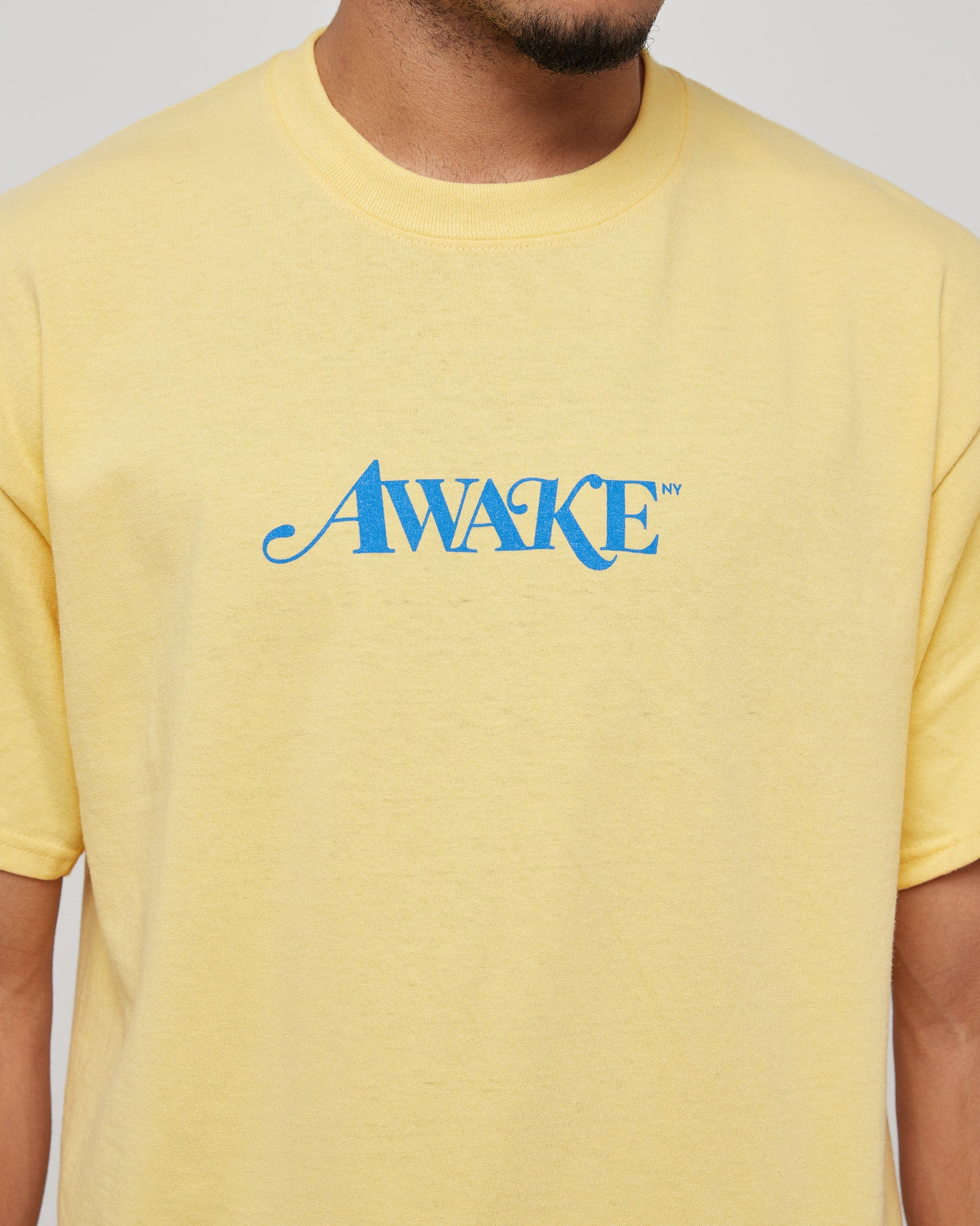 Classic Logo T-Shirt in Light Yellow