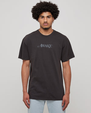 Classic Logo T-Shirt in Washed Black