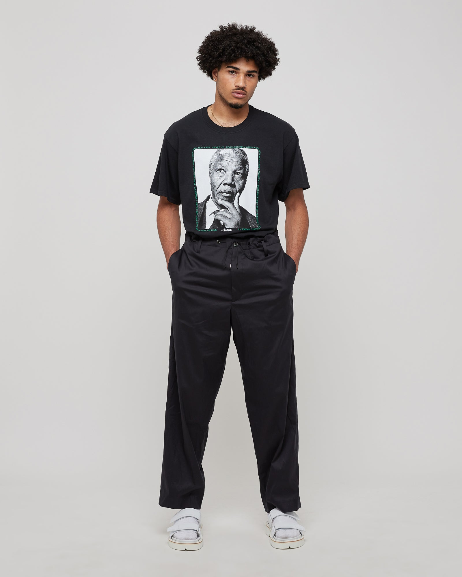 Mandela T-Shirt in Black