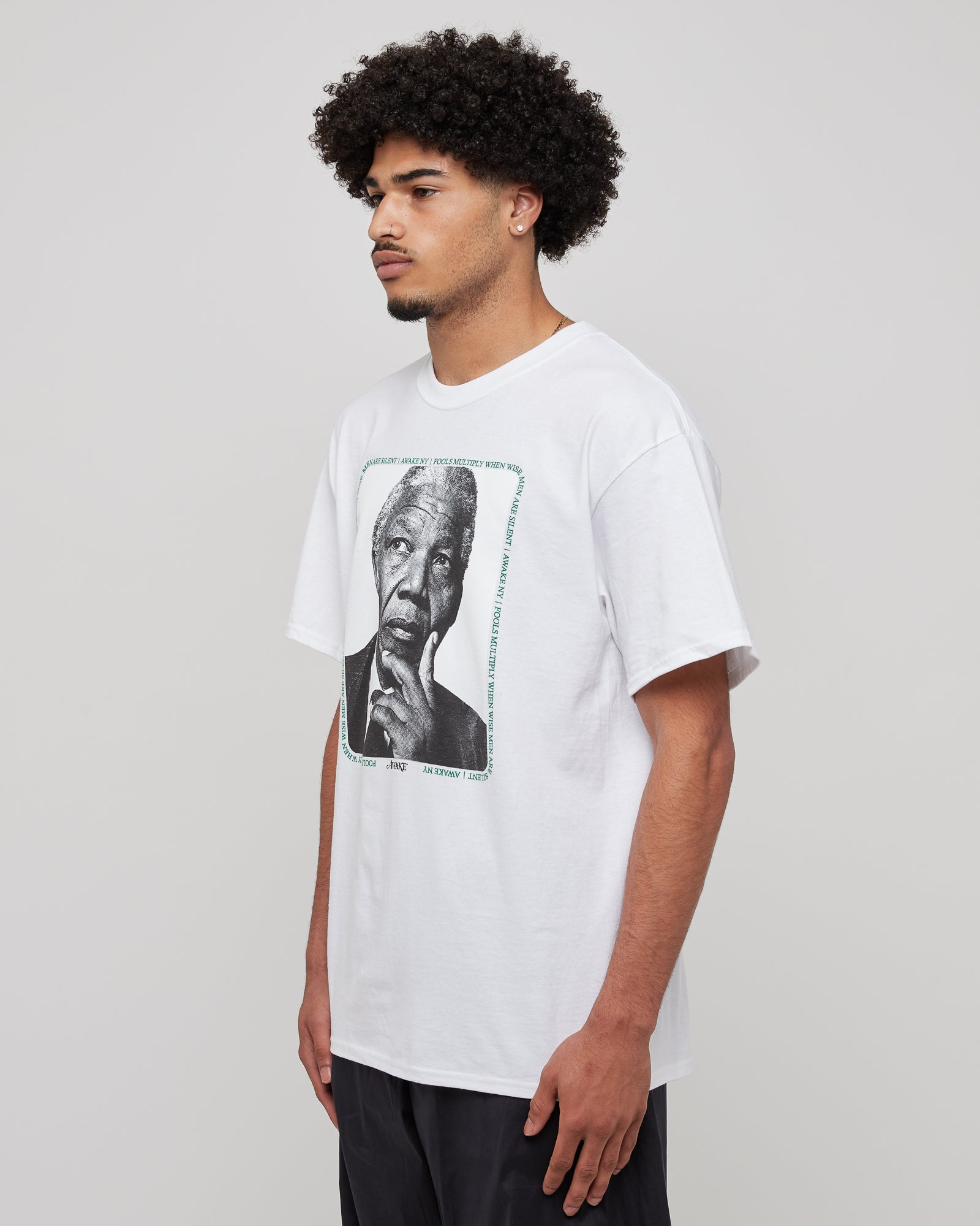Mandela T-Shirt in White