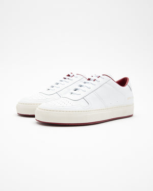 BBall 88 Sneakers in White/Red