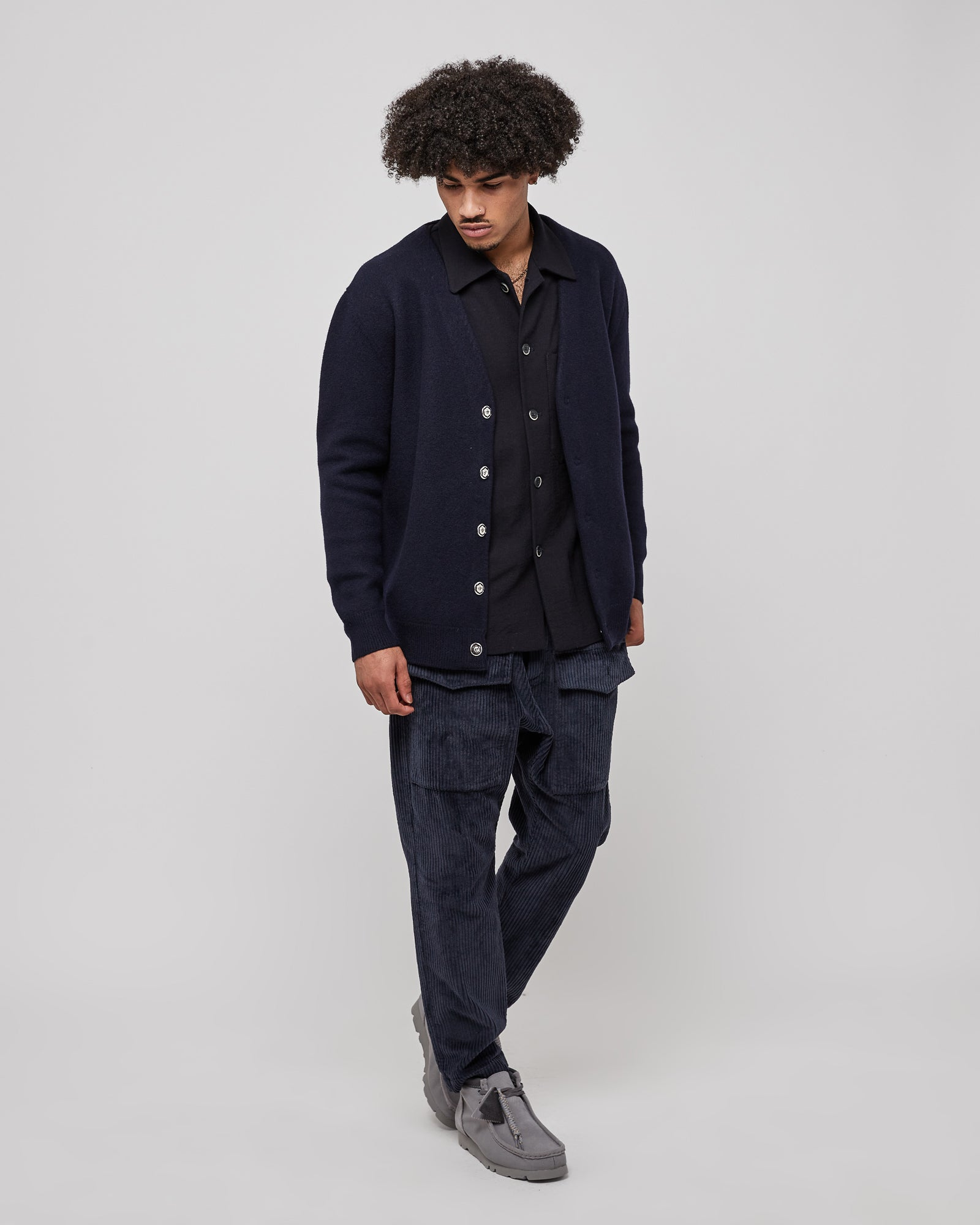Cedrone Overshirt in Navy