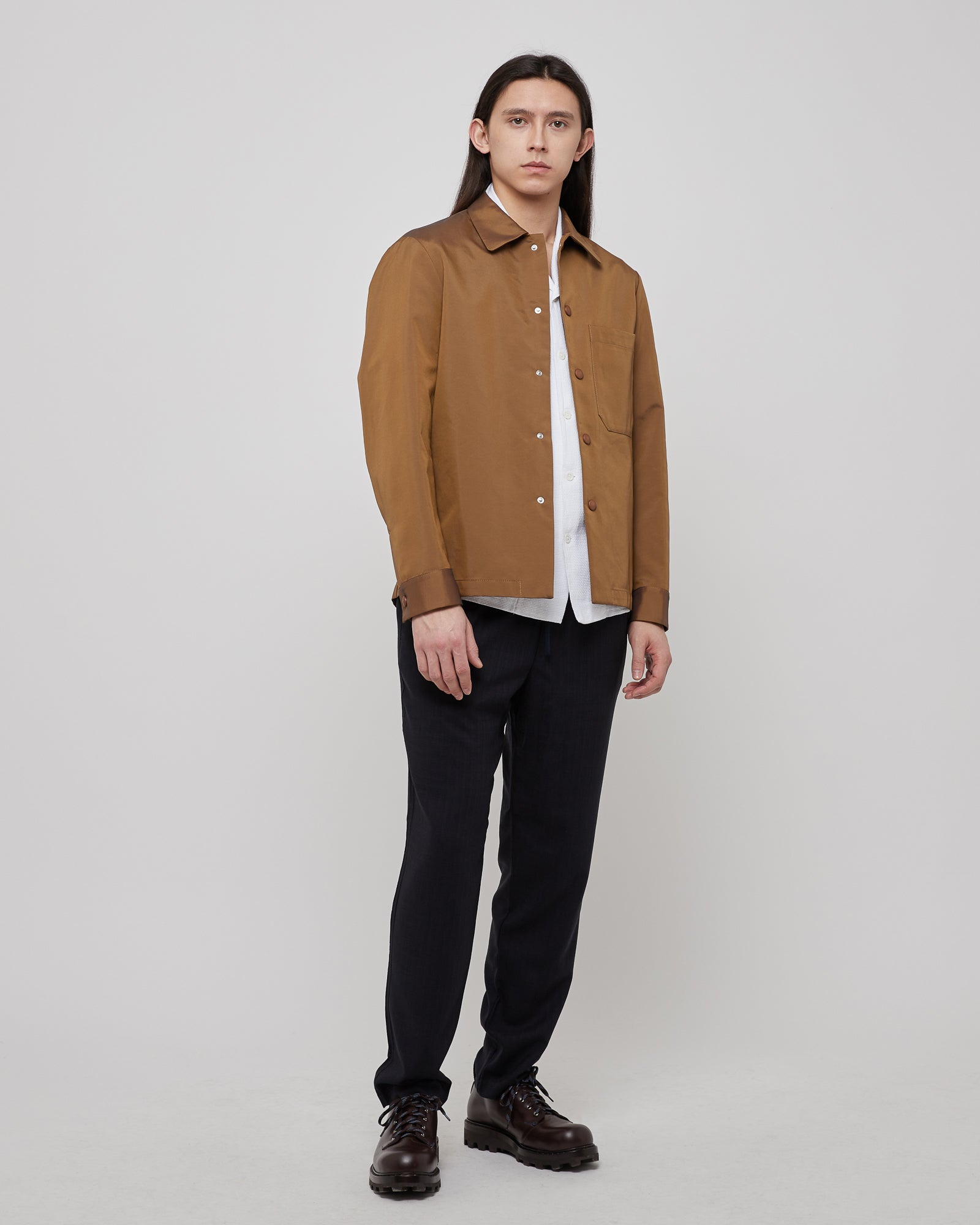 Cedrone Overshirt in Tabacco
