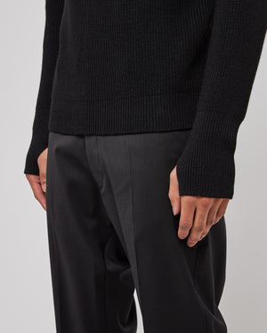 Corba Sweater in Nero