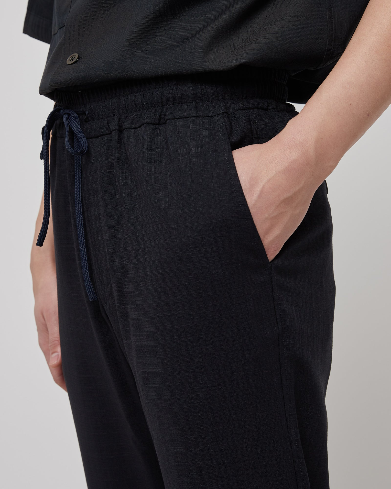 Cosma Trousers in Dark Navy