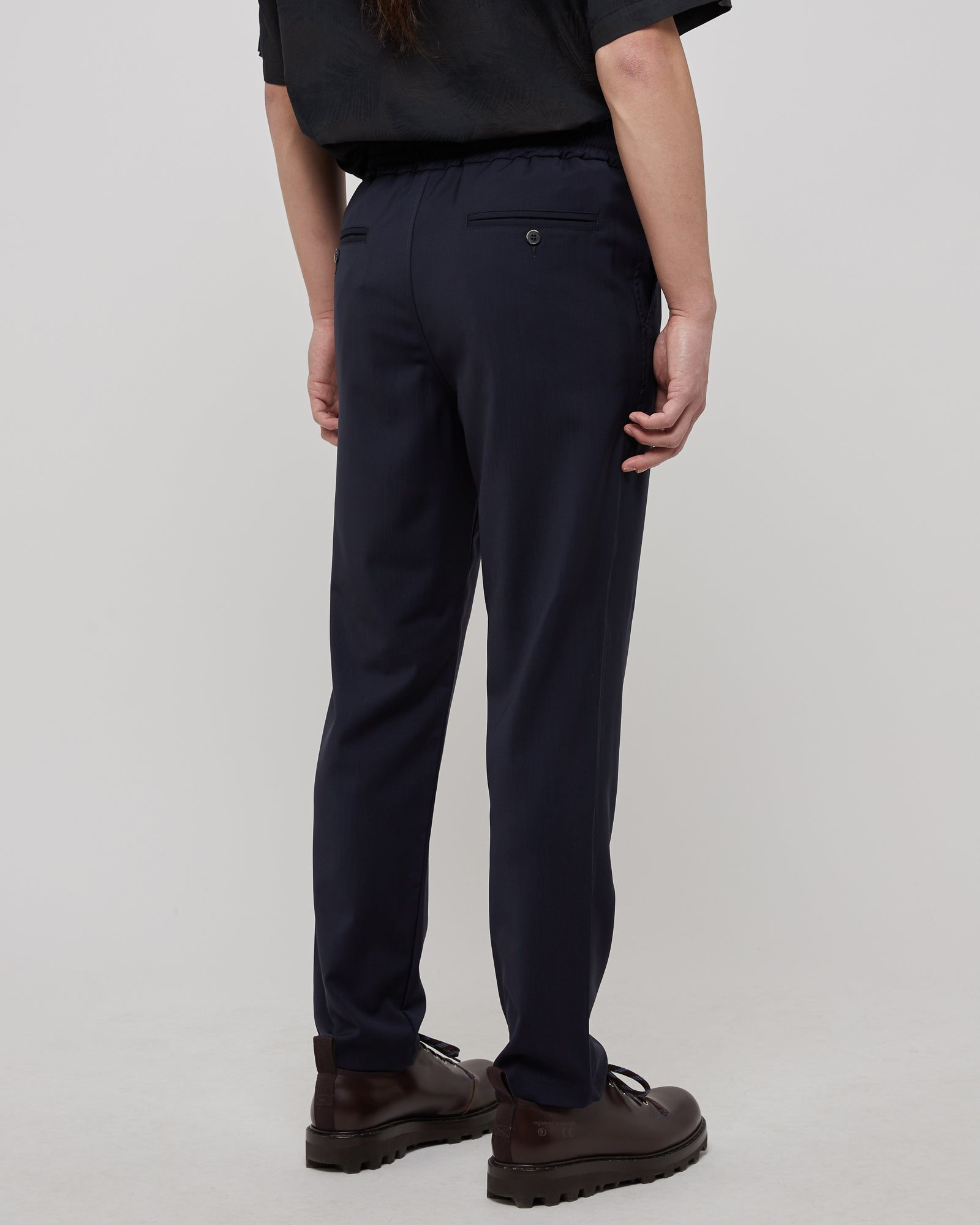 Cosma Trousers in Navy