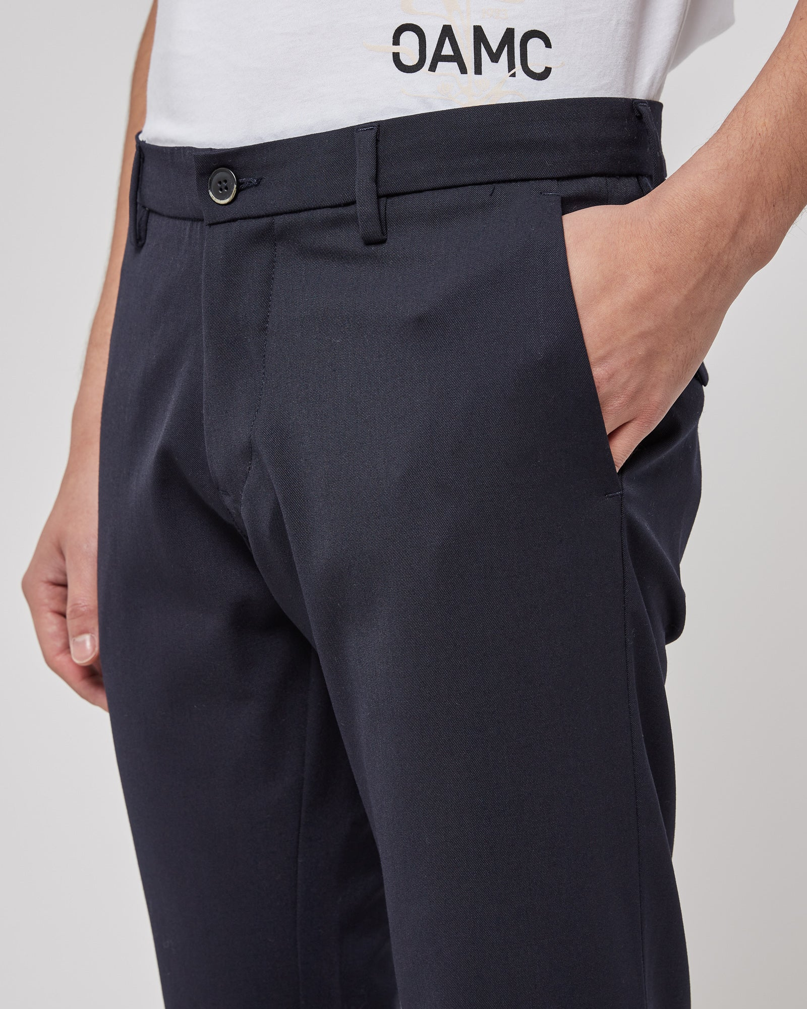 Rionero Trousers in Navy