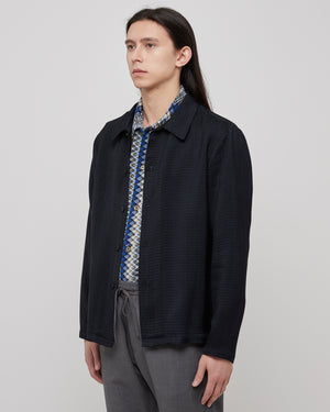 Roncola Shirt in Navy