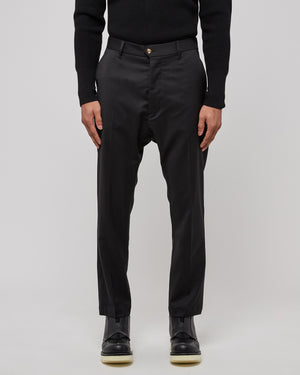 Rostro Trousers in Nero