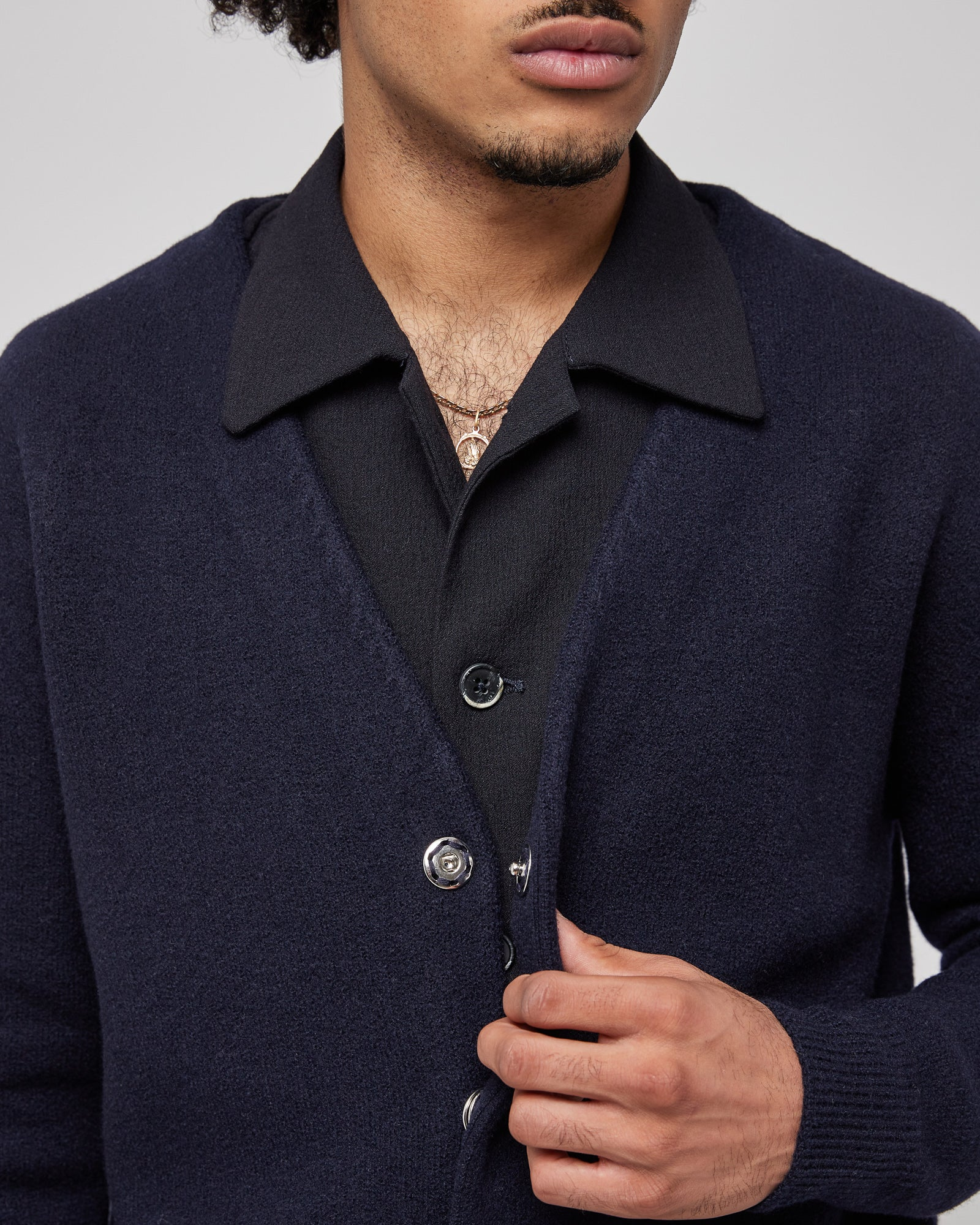 Menego Sweater in Navy