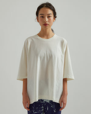 Basic Cotton T-Shirt in White
