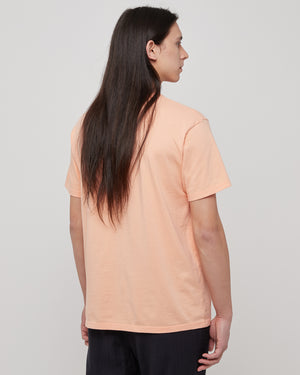 Lover Pocket T-Shirt in Peach & Black