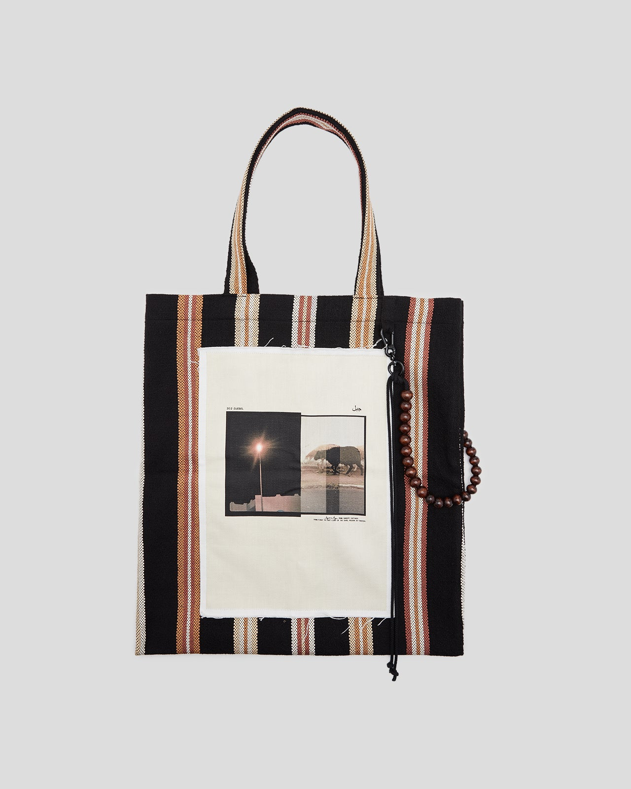 Black Sheep Tote Bag in Black