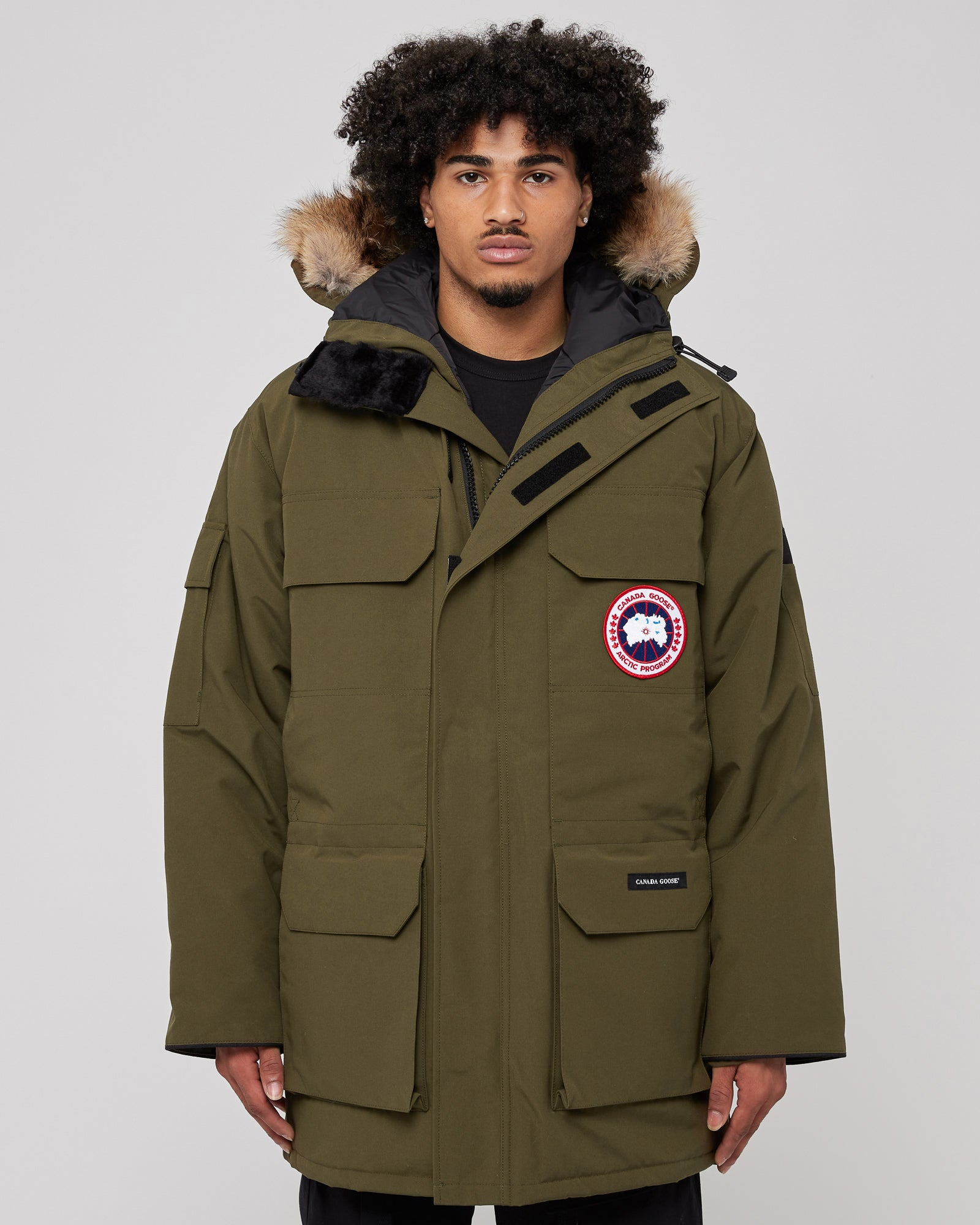 Expedition Parka In Military Green