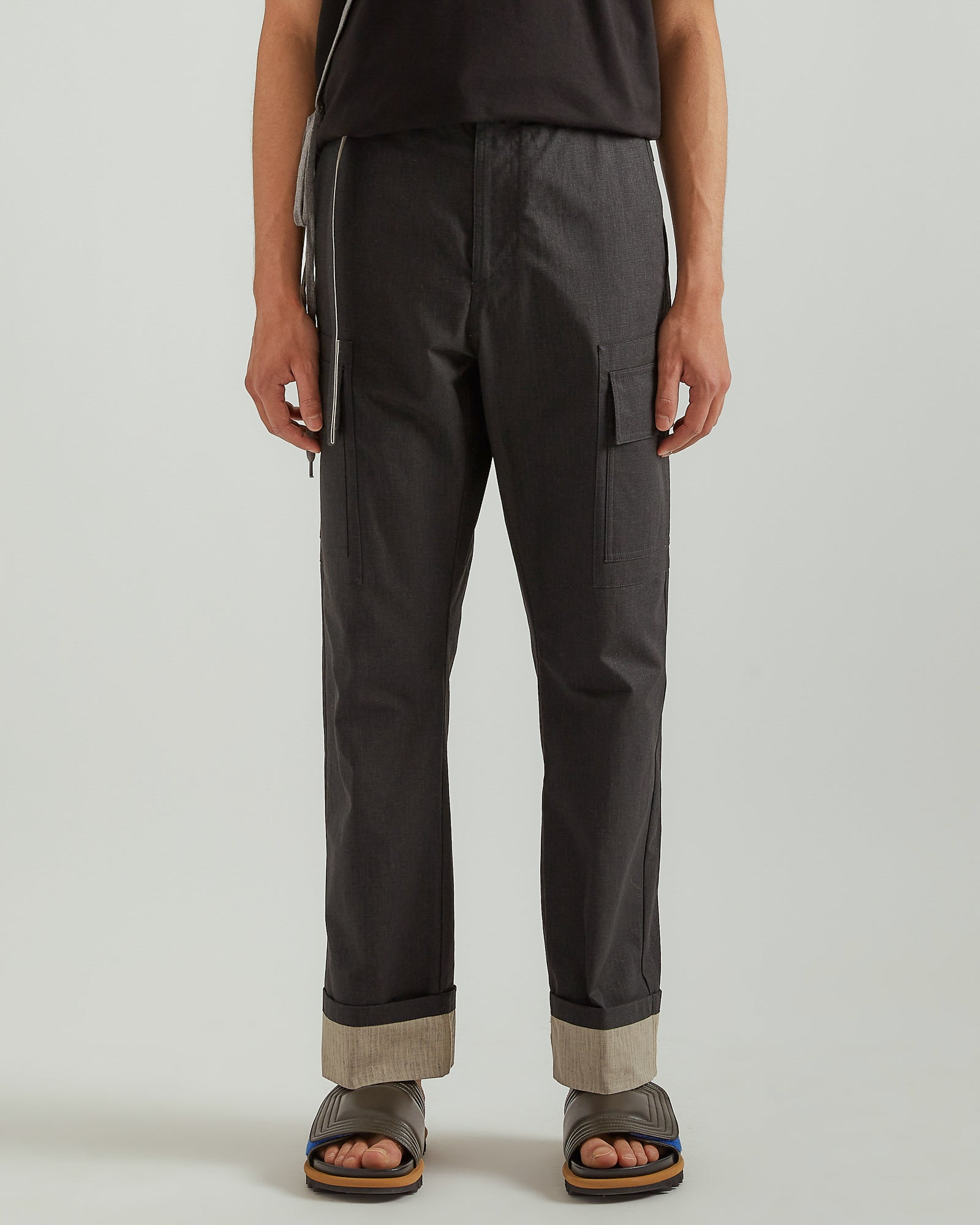 Cargo Trousers in Black