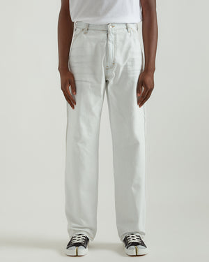 Carpenter Pants in Bleach White