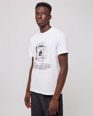 Circumflex Sound T-Shirt in White