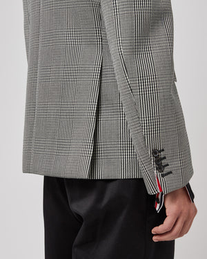 Classic Suiting Jacket in Cavalry Twill Gray