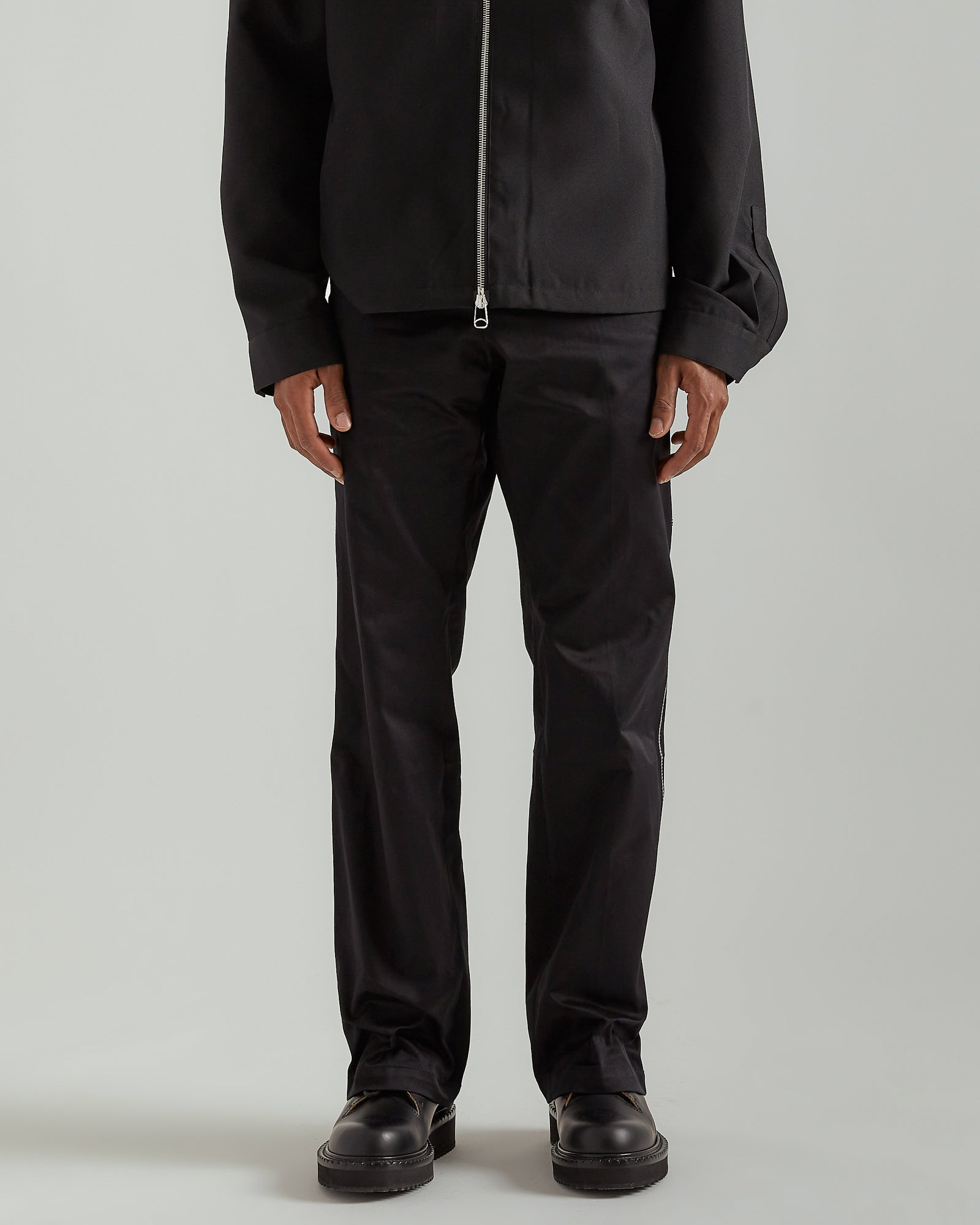 Construct Pant in Black