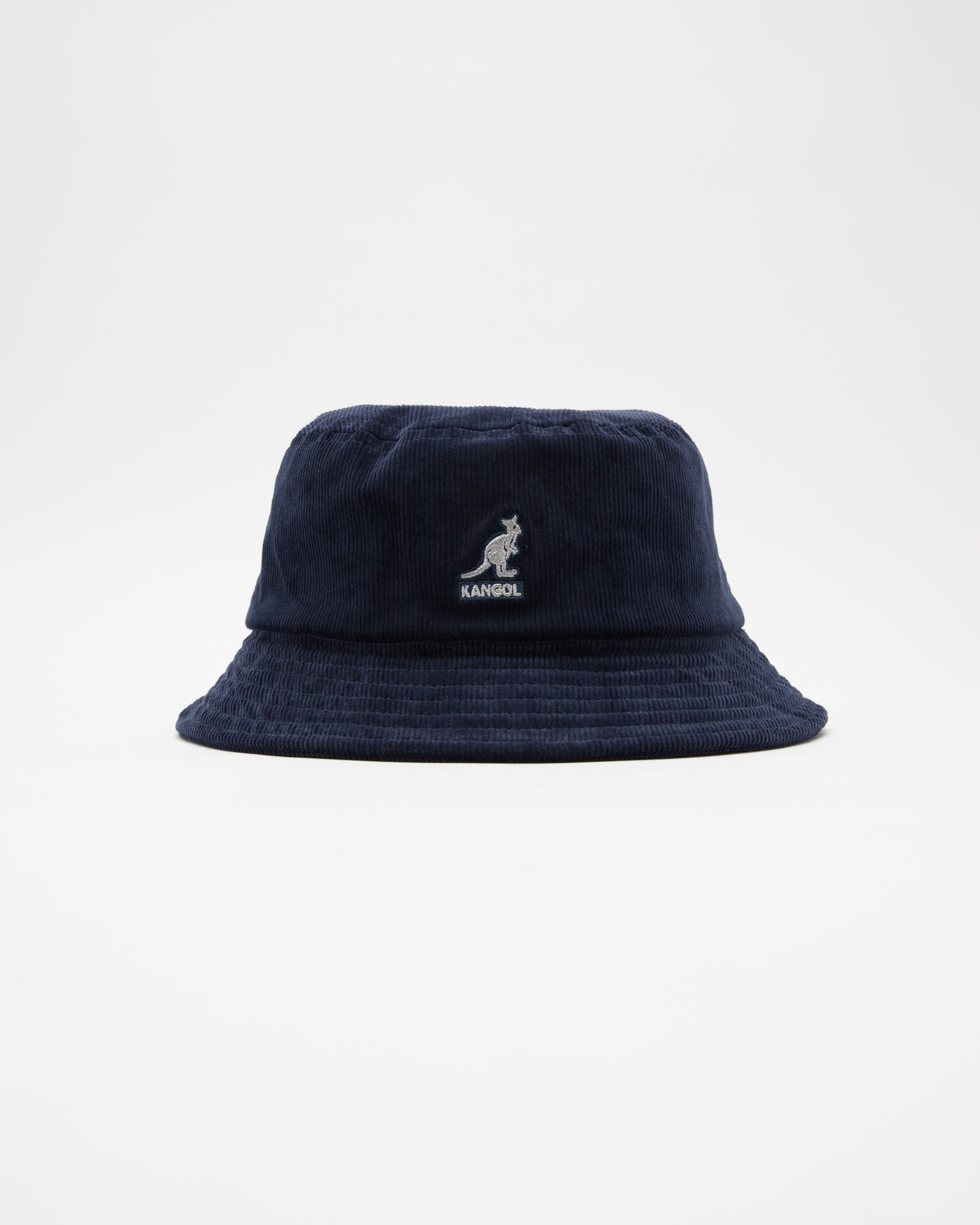 Cord Bucket Hat in Navy