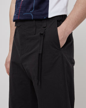 Uniform Trouser in Black