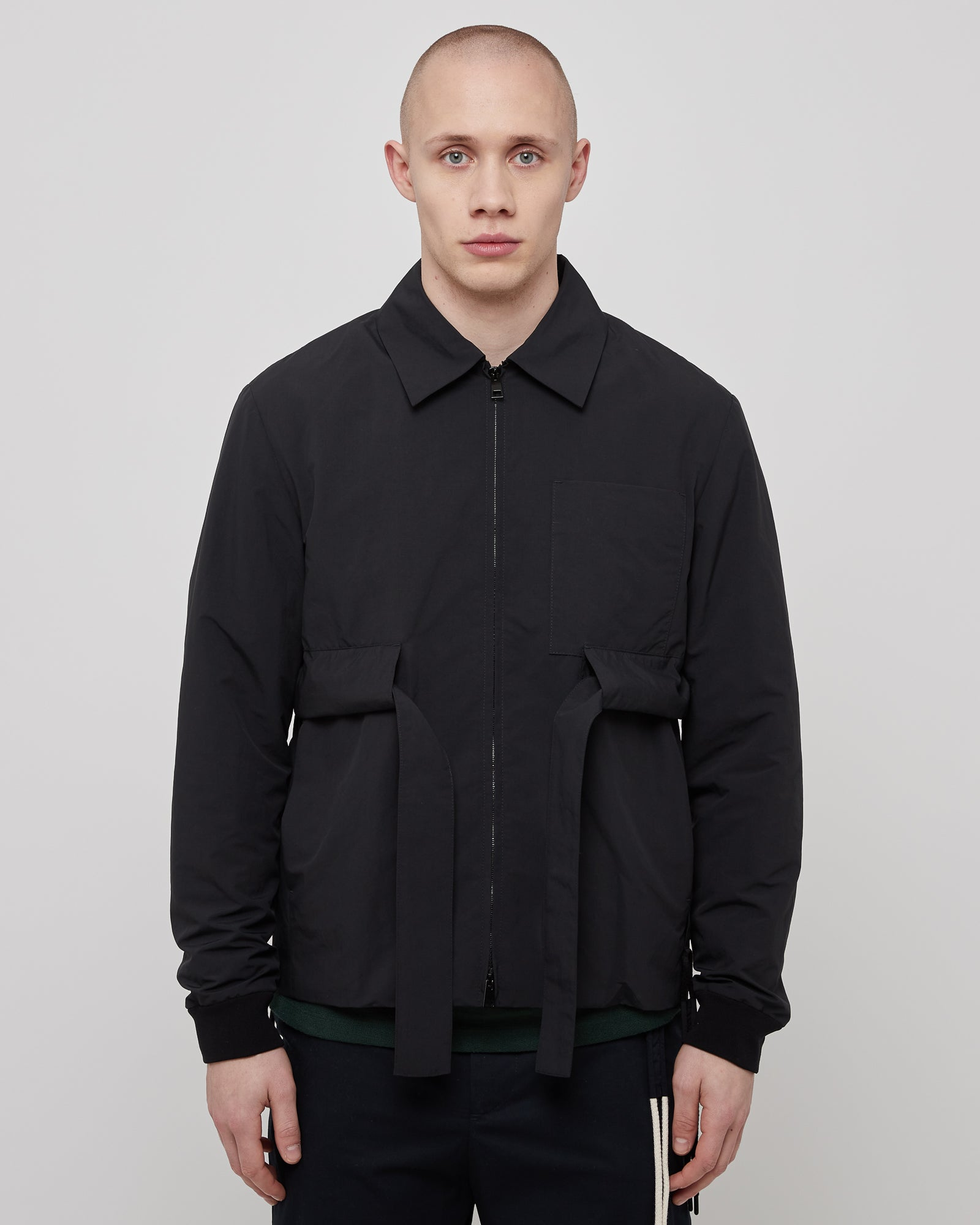 Utility Bomber in Black