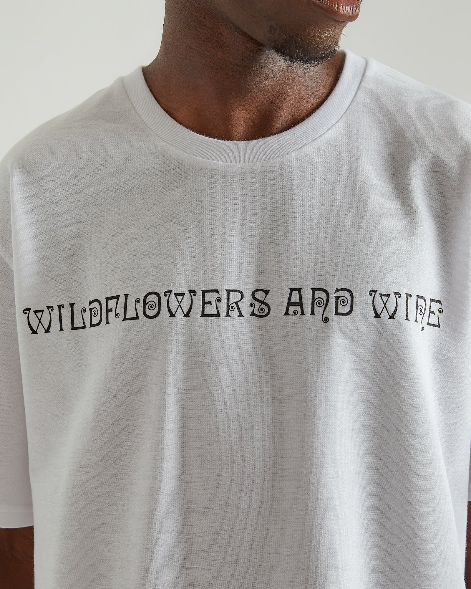 Crewneck T-Shirt in White