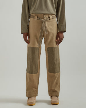 DO-GI Pants in Beige