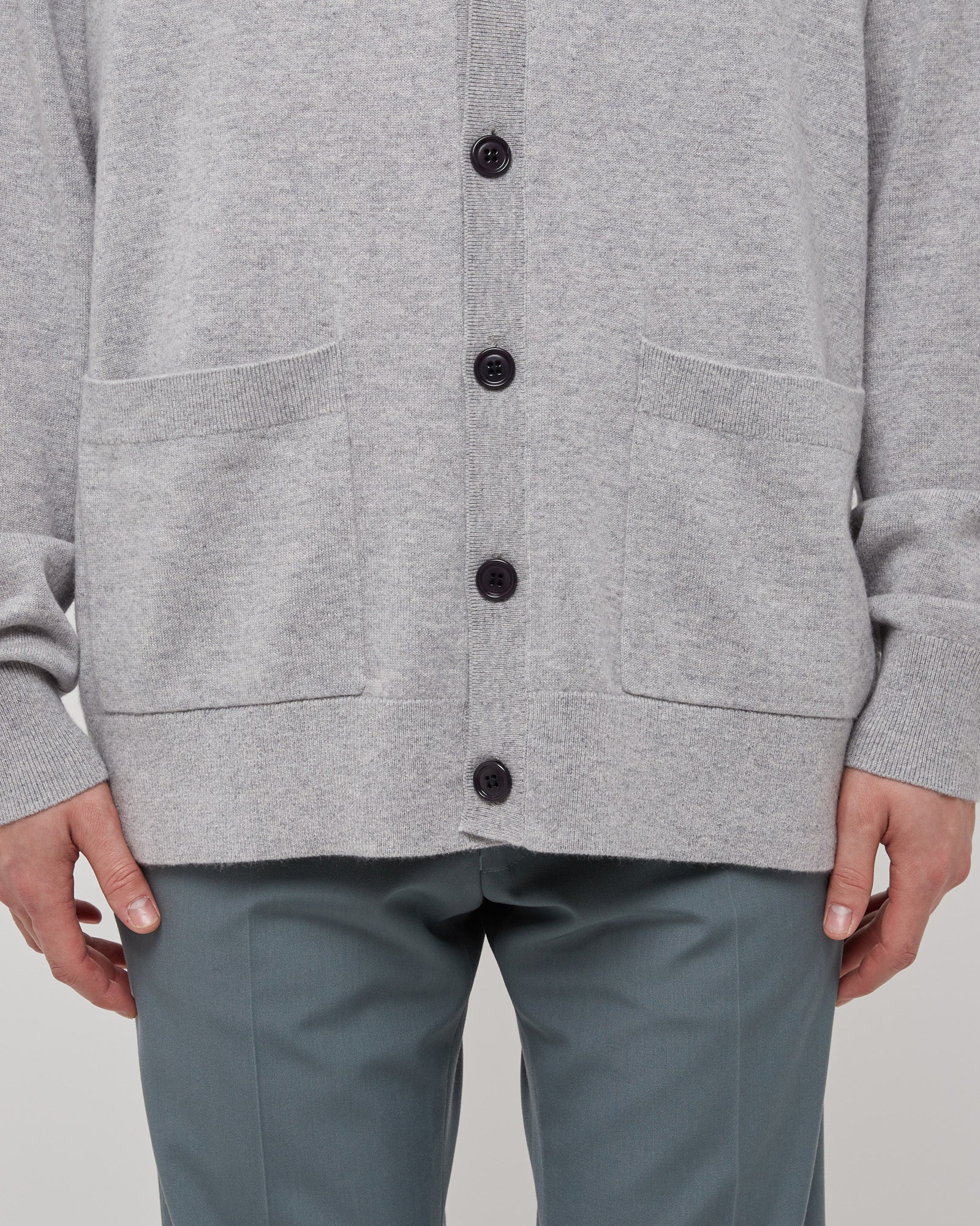 Jam Cardigan in Light Gray