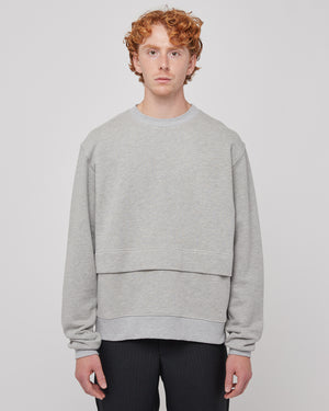 Deja View Sweatshirt in Heather Gray