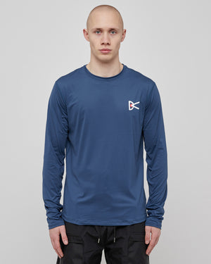 L/S Air Wear T-Shirt in Blue