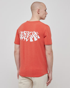Tadasana T-Shirt in Terracotta