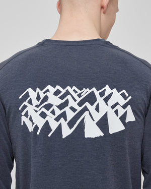 L/S Tadasana T-Shirt in Navy
