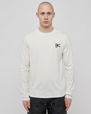 L/S Air Wear T-Shirt in Cream