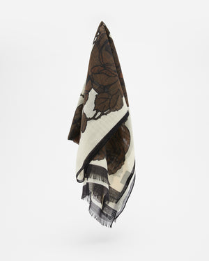 Fable Scarf in Brown