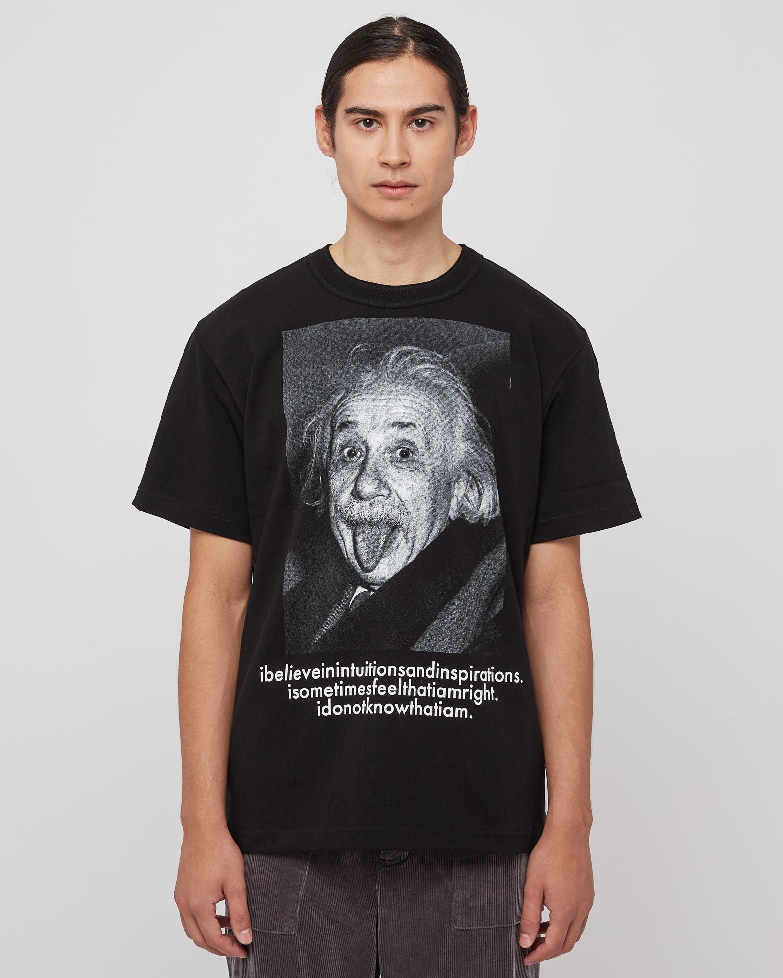 Einstein T-Shirt in Black